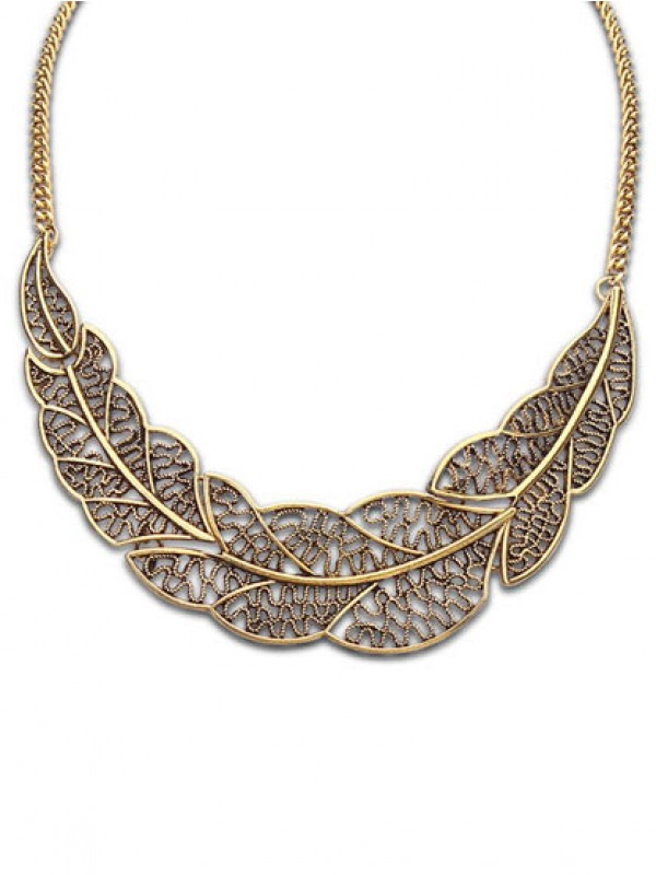 Foreign orders HolBasso Tree leaf Collane