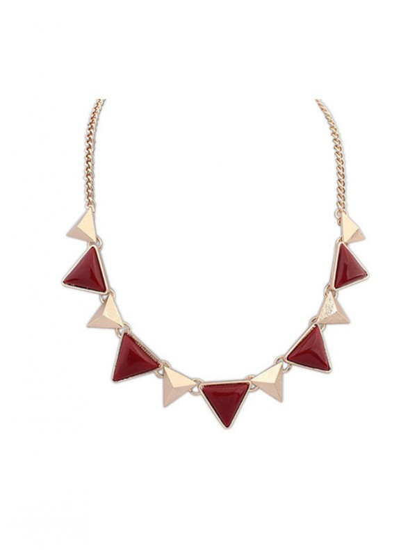 Retro Punk Geometria Triangle Collane